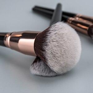 Image 2 - Anmor איפור מברשות מקצועי איפור מברשת 1 PCS קרן אבקת קונסילר קונטור סומק מברשת רך שיער קוסמטי כלי