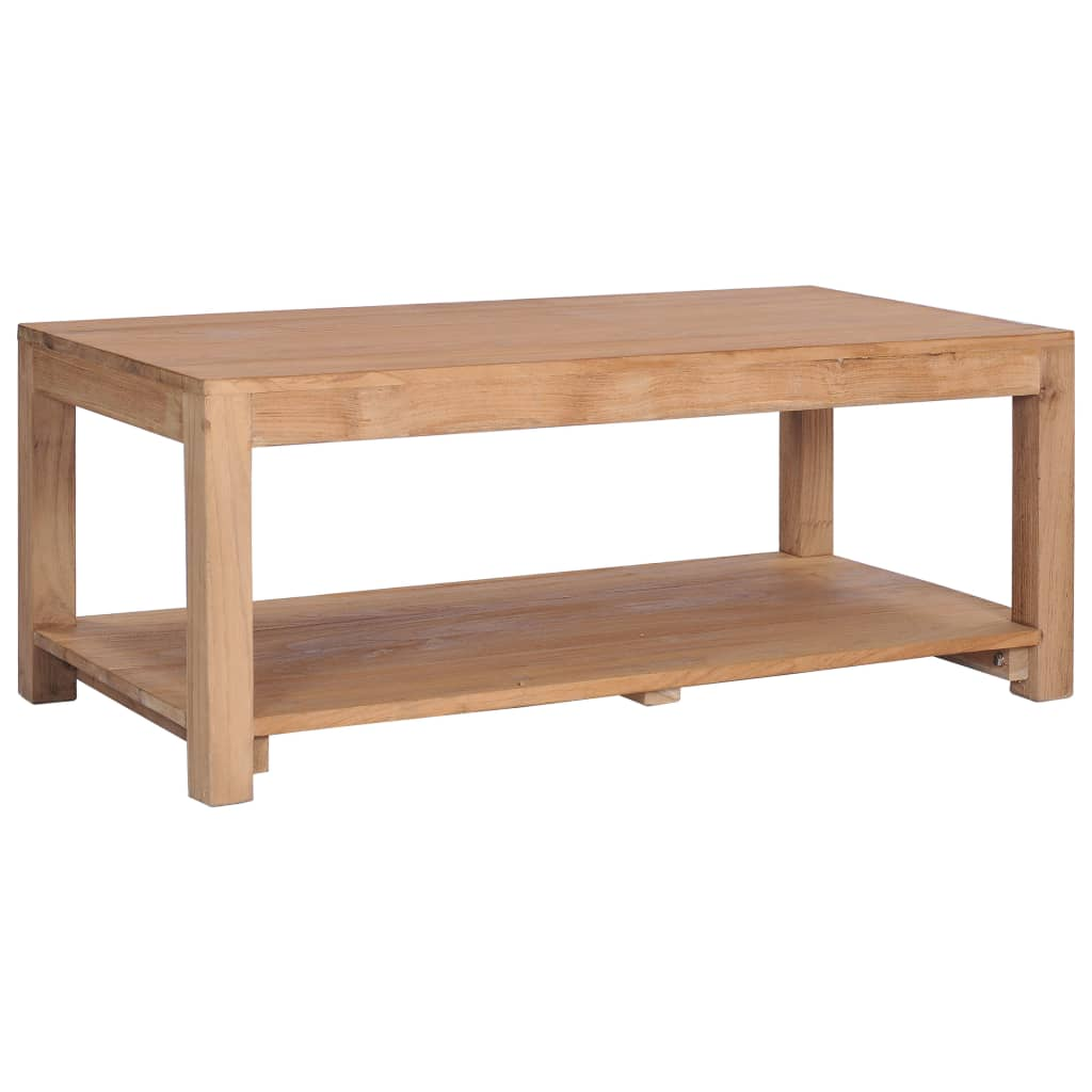 VidaXL Coffee Table 100x50x40 Cm Solid Teak Wood