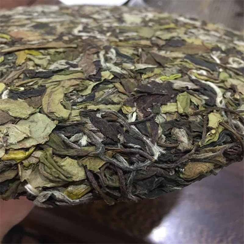 350g คุณภาพสูงสีขาวชาจีน Fujian Fuding ชาสีขาวเก่าสีขาวชาสีเขียวอาหารลดน้ำตาลในเลือดความดันชา