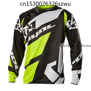 Camiseta negra para bicicleta de montaña GP, camiseta de Motocross BMX DH...