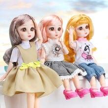 30 см bjd кукла 23 подвижная шарнирная девочка игрушка различные