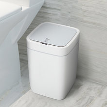 Smart Sensor Trash Can Electronic Automatic Household Bathroom Toilet Waterproof Narrow Seam Sensor Bin