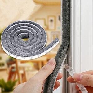 Self-adhesive Sealing Strip Doors and Windows Wind-proof Brush Sealing Strip For Home Door Window Sound Insulation Strip Gasket