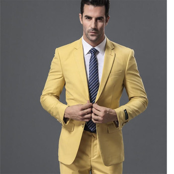New Men's Suit Smolking Noivo Terno Slim Fit Easculino Evening Suits For Men formal Business Suit Long-Sleeved Suits(Jacket+Pant
