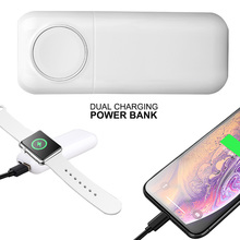 Magnetic Power Bank Wireless Charger สำหรับ Apple นาฬิกามัลติฟังก์ชั่น5400MAh โทรศัพท์มือถือ IWatch Fast Chargers