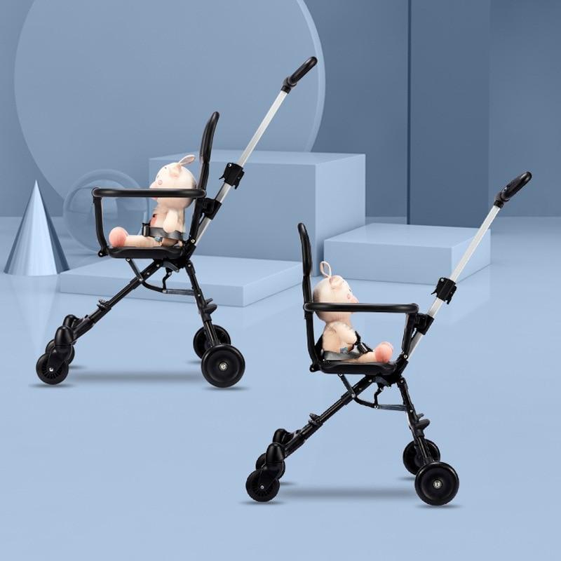 Baby Stroller Walking Artifact Portable Two-way Foldable Portable Baby Stroller Infant Stroller Toddler Stroller