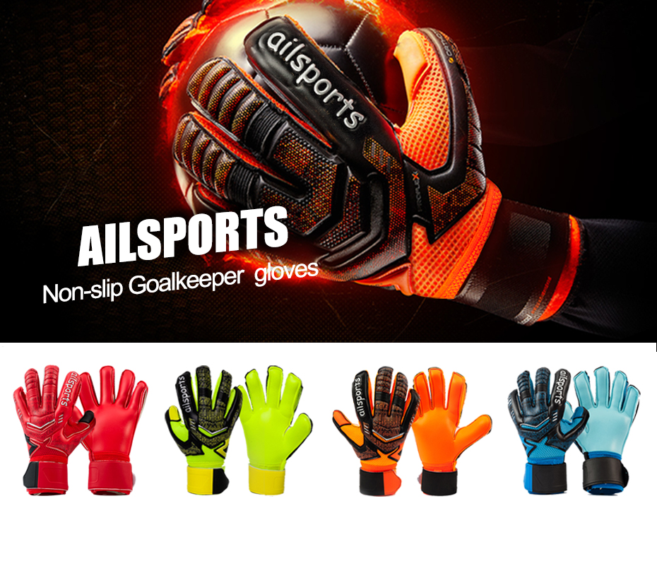 Professional Goalkeeper Gloves With Finger Protection 1