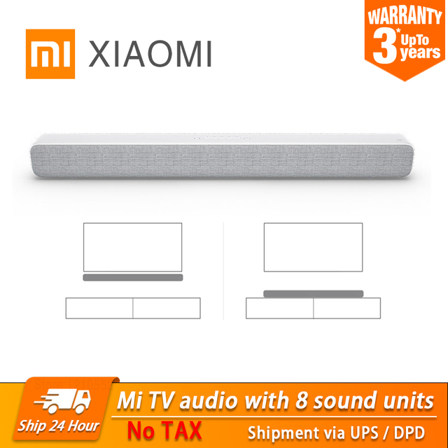 2020 New Xiaomi Bluetooth TV Sound Bar Portable Wireless Speaker Support Optical SPDIF AUX IN For Home Theatre Music Speakers 1