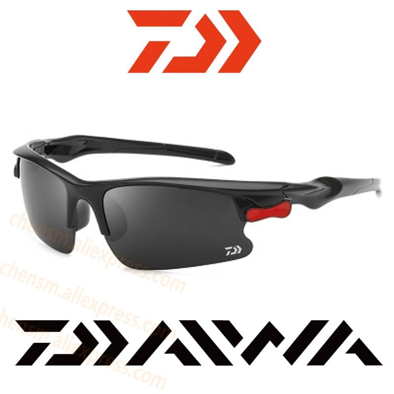 2020 New Dawa Daiwa Outdoor Sports Sunglasses Polarized Anti-UV Sunglasses for Fishing Camping Hiking Sunglasses for Men