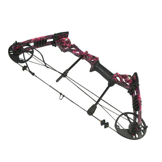 40-60lbs Archery Compound Bow Set Adjustable 75% Left-off 310FPS Powerful Bow Outdoor Bow And Arrow Shooting Hunting Accessories 2
