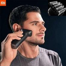 Xiaomi mijia往復式電気シェーバーかみそり 5 カッターヘッド 15,000rpmタイプc充電式防水無指向性floatin