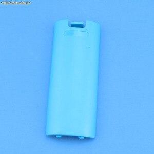 Image 2 - Funda trasera para mando a distancia de Nintendo Wii, funda protectora para batería, juego inalámbrico, 1 unidad