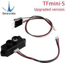 0.1 12m TFmini S Lidar טווח Finder חיישן מודול TOF נקודה אחת מיקרו החל לarduino Pixhawk רובוט Drone UART & IIC