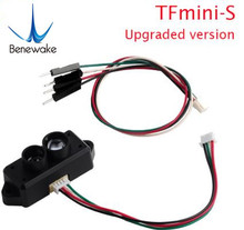 0.1 12m TFmini S Lidar Range Finder Sensor Module TOF Single Point Micro Ranging for Arduino Pixhawk Robot Drone UART &IIC