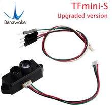 0.1 12m TFmini S Lidar mesafe bulucu sensörü modülü TOF tek nokta mikro Arduino Pixhawk drone UART ve IIC