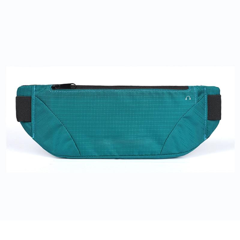 2019 Unisex Waterproof Waist Pack Travel Sport Fanny Pack Phone Waist Belt Bag Solid Color Black Fashion Casual Chest Bag Purse