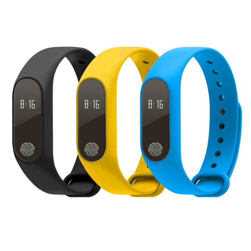 2019 New M2 Smart Bracelet SMS Call Reminder Bluetooth Sync Pedometer Sports Bracelet