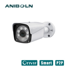 POE 2MP IP Camera Outdoor supports Waterproof night version 1080P 25fps H.265 Network Bullet Camera 3.6mm Wide Lens P2P Onvif