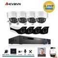 AHCVBIVN 8CH CCTV Surveillance Kit 5MP Sicherheit Kamera System 8CH POE NVR Mit 5.0MP POE IP Kamera CCTV Set Wasserdicht ansicht-in Überwachungssystem aus Sicherheit und Schutz bei