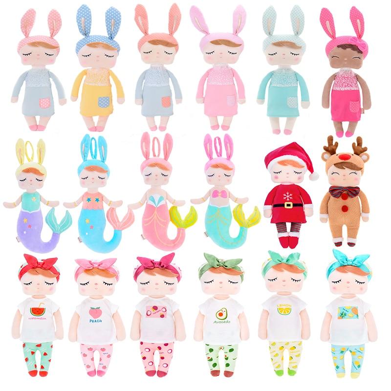 Metoo Dolls Christmas Gift Stuffed Toys Plush Animals Kids Toys For Girls Children Boys Kawaii Baby Plush Toys Cartoon Angela Ra
