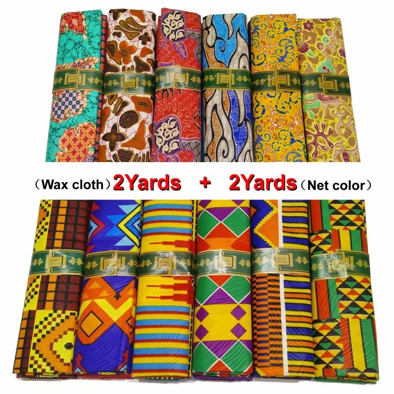 African Lace Fabric Robe Pagne Wax Bazin Rich Getzner 2019 African Fabric Wax Print
