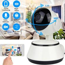 цена на 720P WiFi IP Camera Baby Monitor Portable HD Wireless Smart Baby Camera Audio Video Record Surveillance Home Security Camera