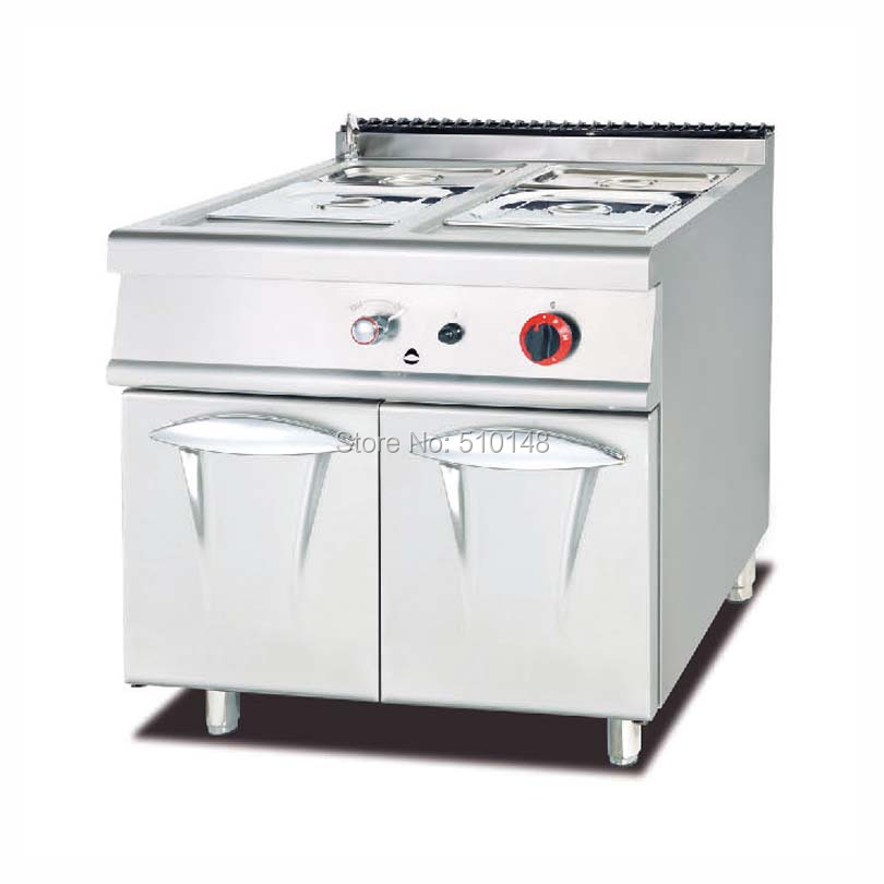 PKJG-984 Gas Bain Marie with Cabinet, 900 series, for Commercial Kitchen