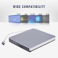 Portable External DVD Drive USB 3.0 Fast Transfer Laptop CD Player Computer Accessories C-Type Interface for Apple MacBook Air