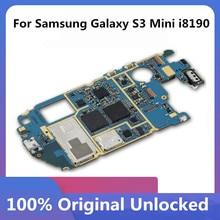 オリジナル三星銀河S3 ミニi8190 電話マザーボードロック解除とチップosロジックボード良好な作動