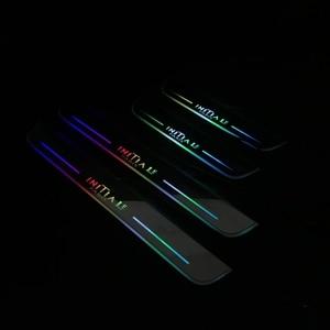 Image 5 - Osmrk led נע דלת שפשוף עבור רנו koleos arkana קמע Kangoo דינמי אדן צלחת שטוח רירית כיסוי זורם/עדיין אור