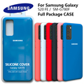 Чехол для Galaxy S20FE, оригинальный шелковистый силиконовый чехол для Samsung s20 Fe, высококачественный мягкий на ощупь защитный чехол для Galaxy SM G780F
