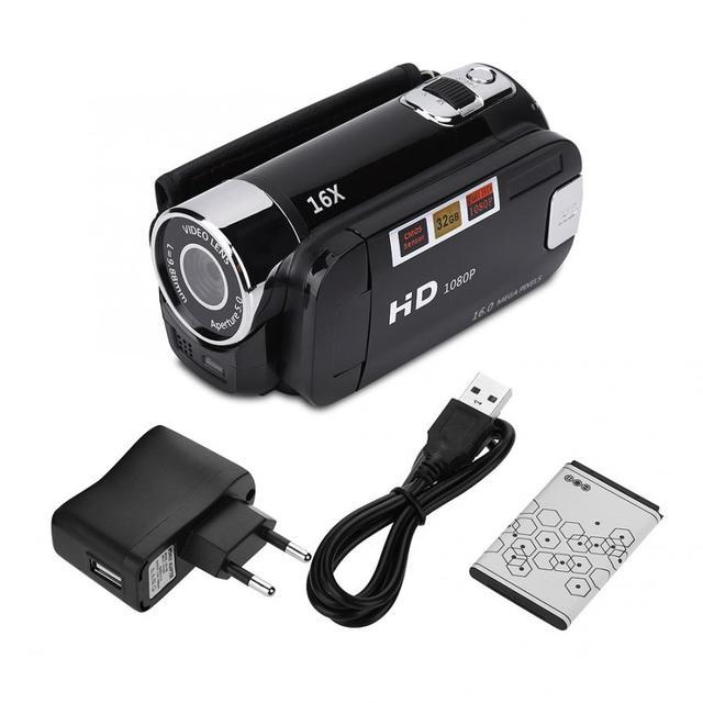 מצלמת וידאו דיגיטלי  HD 16MP     1