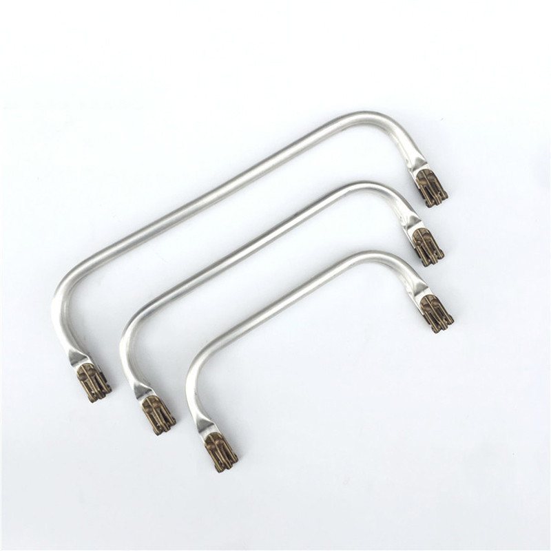 20 25 30cm Doctor Bag Making Metal Clasp Hardware Purse Frame 10pcs/lot