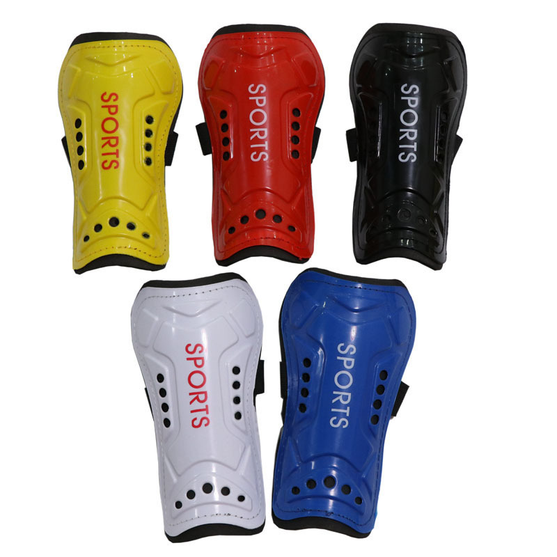 Manufacturers Direct Selling Genuine Product Adult Strap-on Football Shin Pads Sport Ware Small Wholesale