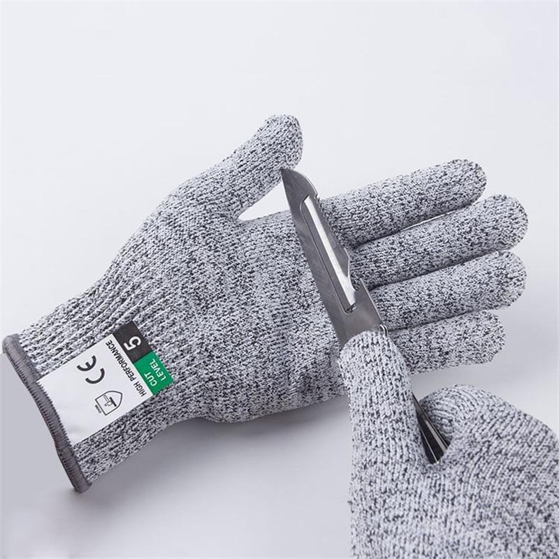Металлическая перчатка, для кухни, с защитой от порезания устриц и рыбы, защитные перчатки для садоводства, уровень 5|Бытовые перчатки|   | АлиЭкспресс