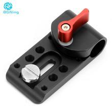 BGNing soporte con manilla de sujeción para cámara DSLR 5D2 GH2, adaptador para 15mm