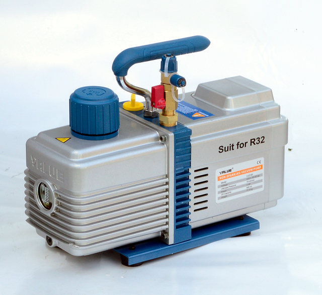 220V 600W V i2120 6L Bipolar Vacuum Pump R32 R290 Refrigerant Pumping Screen Screen Fitting Model Vacuum Pump
