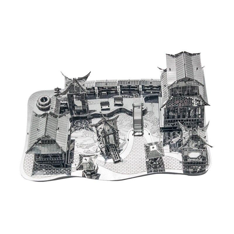 3D Metal Puzzles Model DIY Tools PliersTweezers Buckle Bending Device 3Pcs//Set