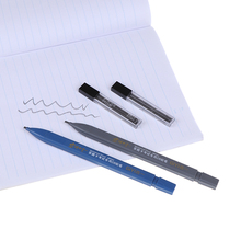 2B Lead Holder Exam Mechanical Pencil With 6PCs Refill Set Student Supplies School