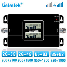 lintratek Dual Band Repeater 2G 3G 4G GSM Cellular Amplifier 900 1800 2100 850 MHz  LTE Signal Booster CDMA B5 UMTS WCDMA DCS