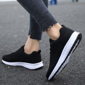 Image 2 - Tenis Feminino אישה טניס נעלי 2019 מכירה לוהטת ספורט נעלי נשי יציבות ספורט כושר כושר גרב נעל מאמני