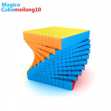 moyu meilong 10x10 Magic Cube Professional Antistress Stickerless Speed Cubes Adults Puzzles Games Toys for Boy10x10x10 Cubos