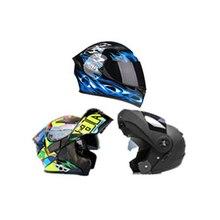 full Face Helmet For Motorcycle Helmet Bluetooth Moto Helmet motorcycle helmet retro vintage cruiser chopper scooter cafe racer 3 4 open face moto helmet unisex c46