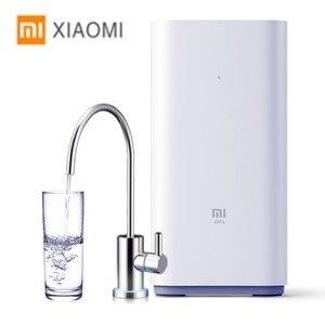 Image 1 - Xiaomi Original Countertop RO Water Purifier 400G Membrane Reverse Osmosis Water Filter System Technology Kitchen Type Household
