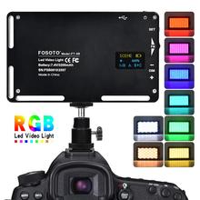 FOSOTO FT-08 RGB LED Video Light Mini Photography