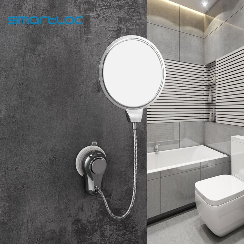 smartloc Double Sides 1X 5X Magnifying  Wall Mirror Bathroom Mirror Bath Makeup Cosmetic Make up Mirrors Bath Mirror Accessories