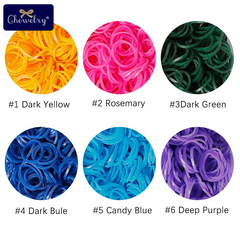 7200pc DIY Toys Rubber Loom Bands Set Kid DIY Bracelet Silicone Rubber Bands Elastic Rainbow Weave Loom Bands Toy Baby Products