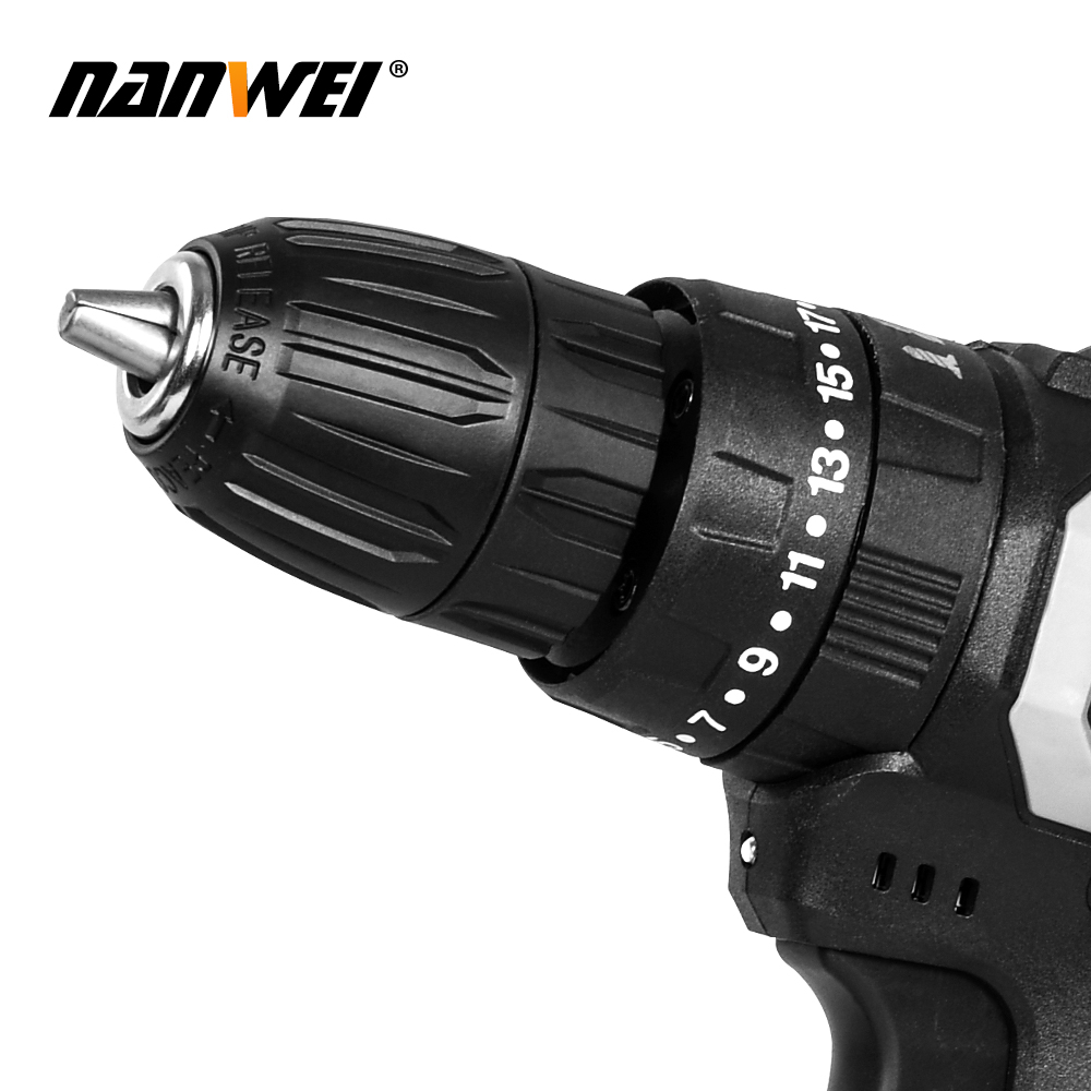 2 In Screwdriver Impact Li Electric Cordless 3 Electric 1 21V Ion Drill Drill Rechargable 13mm Speed Battery