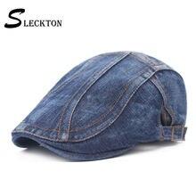 Sleckton модная ковбойская шляпа хлопковый берет кепка для мужчин