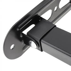 Image 4 - אוניברסלי 18KG מתכוונן טלוויזיה וול הר Bracket טלוויזיה שטוח מסגרת תמיכה 15 מעלות הטיה עם Gradienter עבור 14   42 אינץ LCD